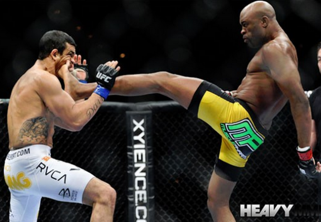 Preferring not to fight against Brazilians, Anderson Silva won't rematch Vitor Belfort