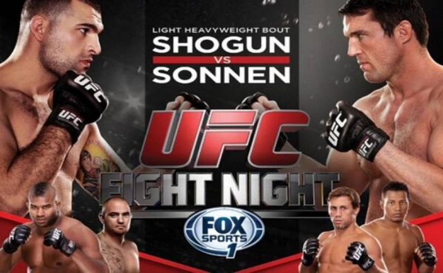 Listen to the UFC Fight Night media call with Shogun, Sonnen, Overeem & Browne