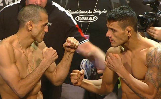 Vídeo: o nocaute de Rafael dos Anjos sobre Sotiropoulos no UFC