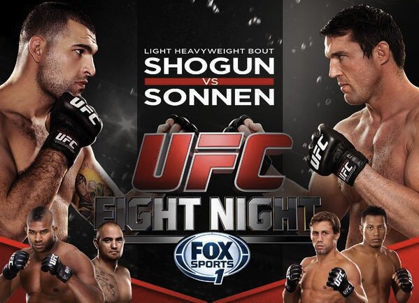 'UFC Fight Night 26: Shogun vs. Sonnen' quick results