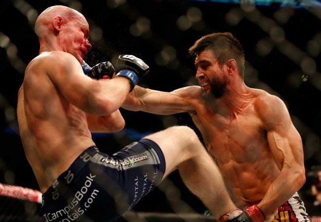 Carlos Condit e Rafael dos Anjos vencem no UFC em Indianápolis