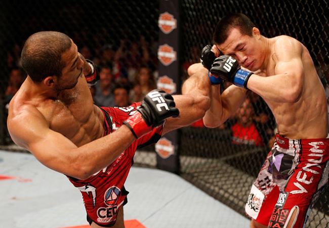 Galeria de fotos: os melhores cliques da vitória de José Aldo no UFC 163