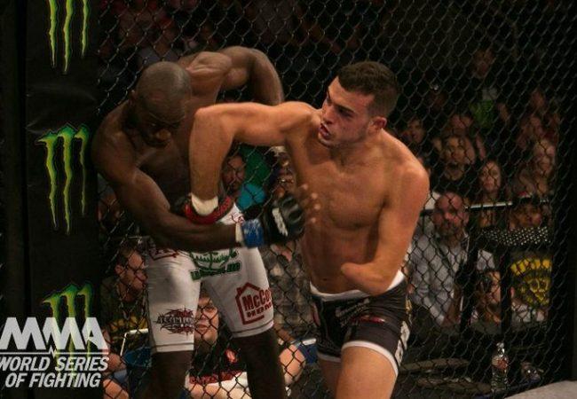 Vídeo: Invicto no MMA, Nick Newell finaliza mais uma no WSOF