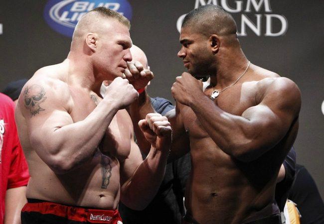 Vídeo: o duelo de gigantes entre Alistair Overeem e Brock Lesnar no UFC