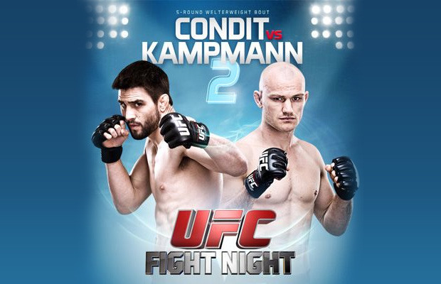 UFC Fight Night 27 Weigh-In Results & Video: Condit, Kampmann hit the scales