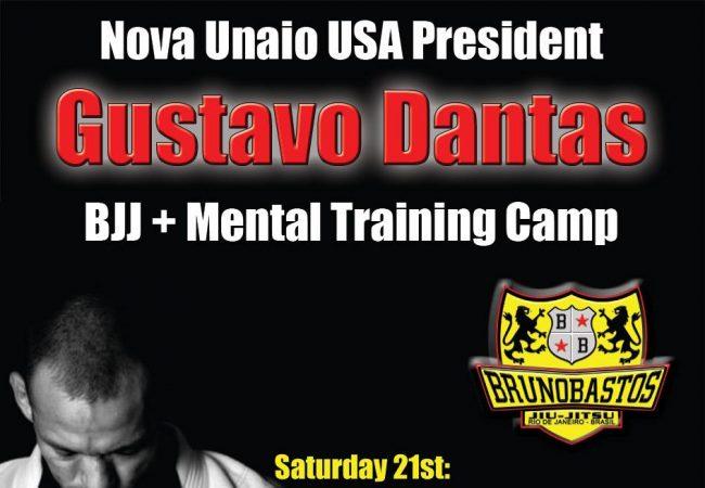 Gustavo Dantas seminar at Bastos BJJ Midland Sept. 21-22 for BJJ and mind