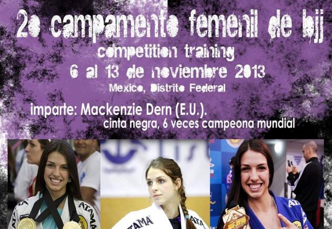 Mackenzie Dern women-only training camp in Mexico City to grow female community