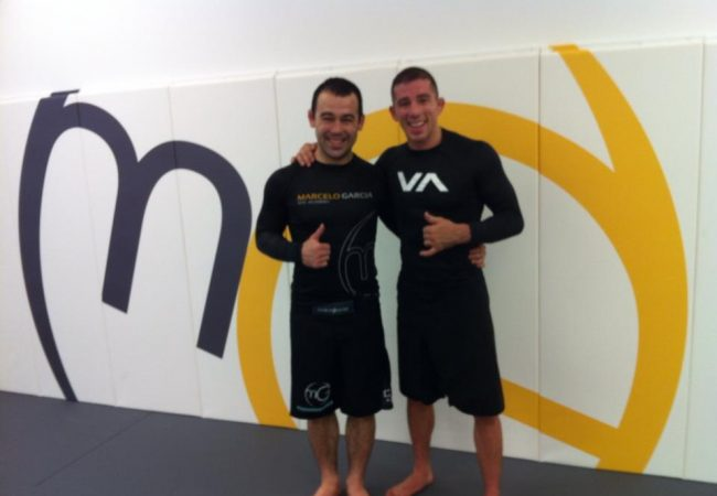 Video: Learn from a no-gi session between Marcelo Garcia and Marcos Torregrosa