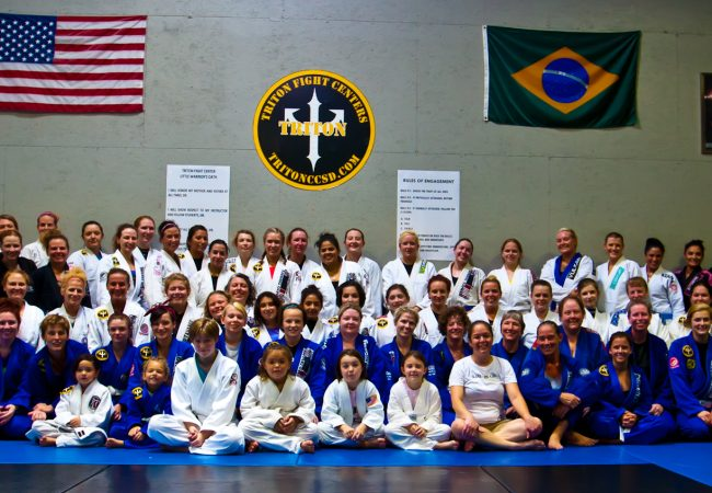 GMA Triton Fight Center in Oklahoma hosts Girls in Gis female open mat event