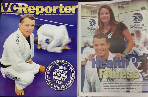 GMA Gracie Morumbi voted best martial arts studio in Ventura County for fifth time