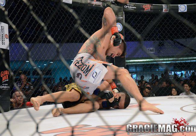 Rayner Silva nocauteia e fica com o cinturão do Jungle Fight 58