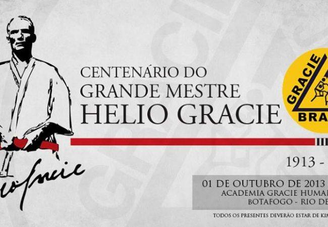 Academias de Jiu-Jitsu no Brasil e EUA preparam festa para 100 anos de Helio Gracie