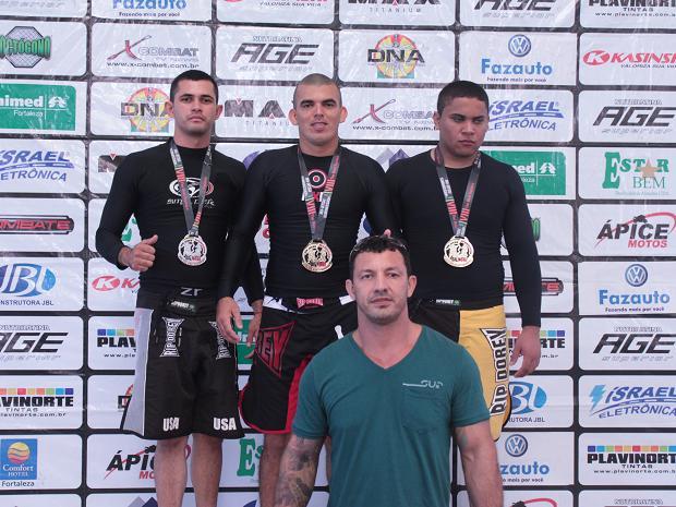 Darlison Silva academia MG lutador cego em Fortaleza
