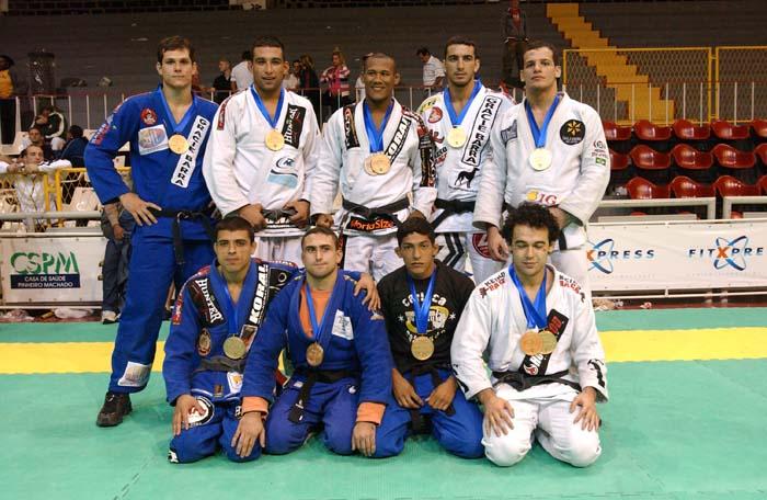 Faixa preta no Mundial de Jiu Jitsu 2004 Foto Aragao