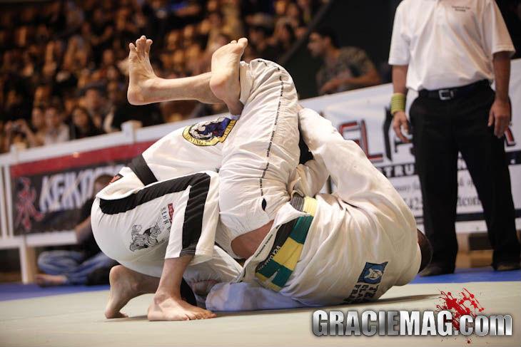 Flagra no US Open de Jiu Jitsu Foto GRACIEMAG