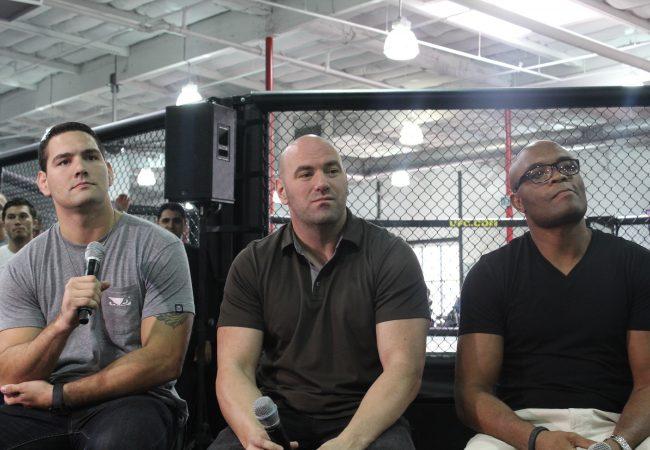 UFC 168 World Tour: Anderson Silva, Chris Weidman Talk Rematch