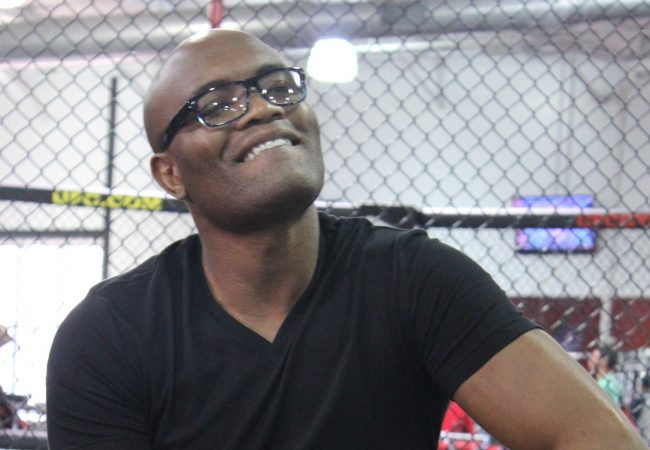 Anderson Silva and the emotion of a young fan