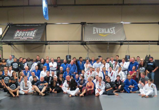 Rivals unite to honor fallen officer; Sergio Penha black-belt dies saving life