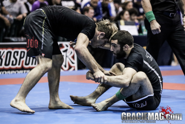 2013 Pan No-Gi: Watch Murilo Santana vs. AJ Agazarm in the open class semis