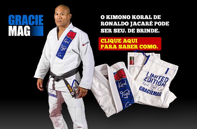 Saiba como ganhar o kimono de Ronaldo Jacaré