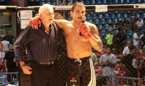 """Fera do Pride e UFC exalta mestre Sá: """"Ele me fazia virar um leão"""""""