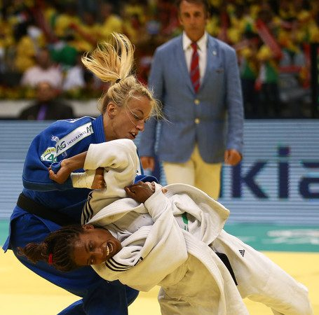 Catch a glimpse of Judo with this solid armbar at the World Championship