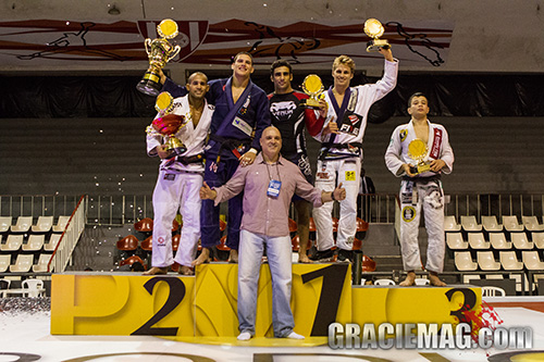 Copa Pódio de Jiu-Jitsu: Felipe Preguiça, Leandro Lo e Clark Gracie brilham no Rio
