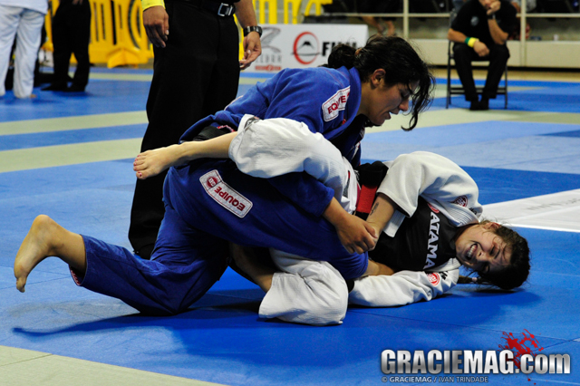 Learn how to defend your guard against heavier opponents with Mackenzie Dern