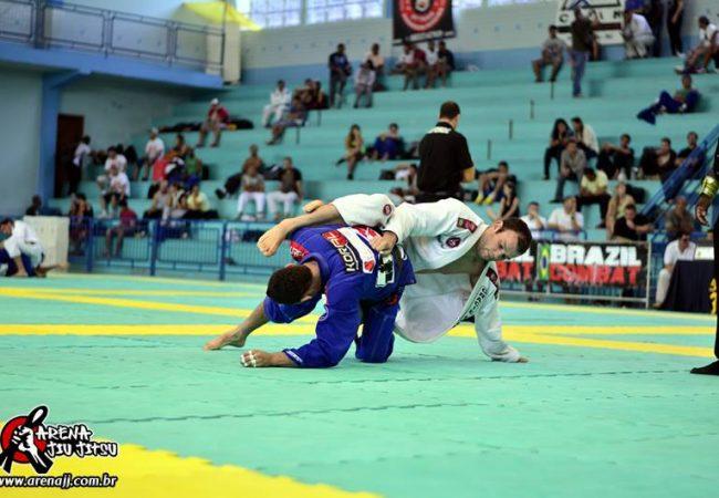 A calma e a precisão de Rodrigo Fajardo no Floripa Open de Jiu-Jitsu