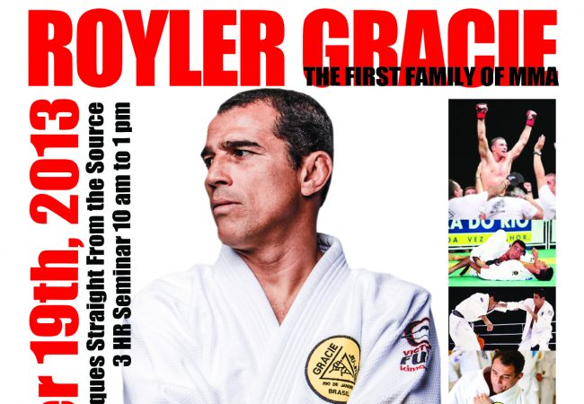 Royler Gracie seminar at GMA Gracie North Carolina in Waynesville on Oct. 19