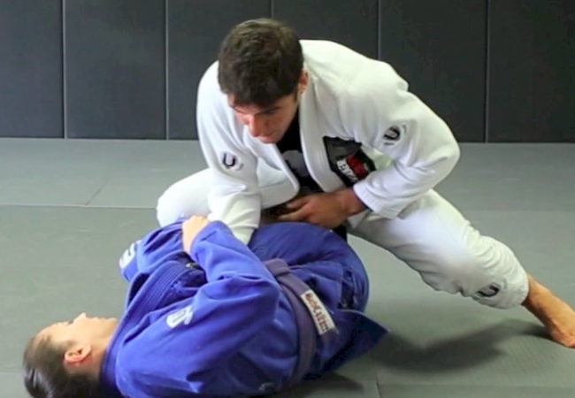GMA Technique: Christian Uflacker teaches guard pass with armbar transition