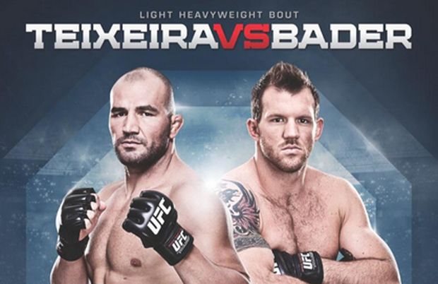 'UFC Fight Night: Teixeira vs. Bader' quick and live results