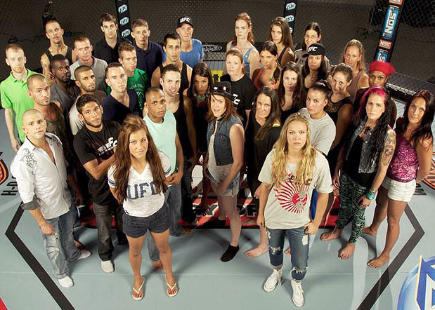 Watch what it's like to try out for the Ultimate Fighter in this video