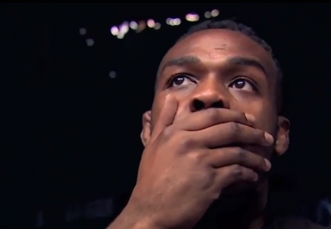 Video: Watch Jon Jones react to Chris Weidman knocking out Anderson Silva at UFC 162
