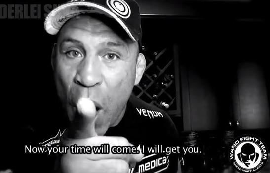 Video: Wanderlei Silva gets in Chael Sonnen's face, nearly gets in fight