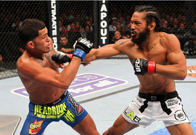 Benson Henderson returning to training immediately following armbar loss