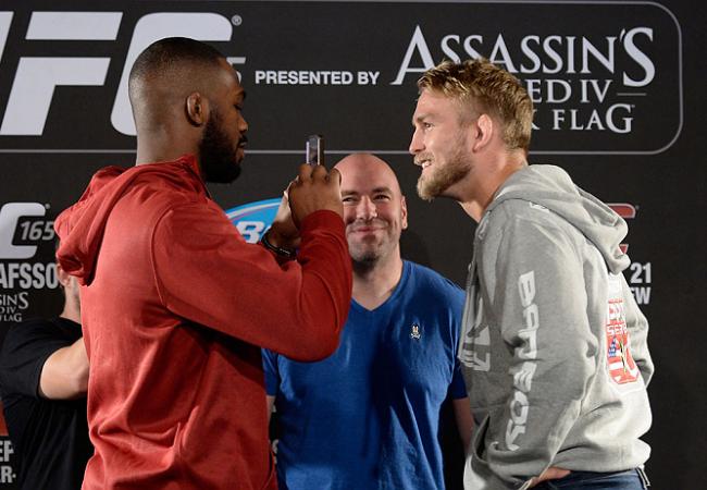Vídeo: Jones x Gustafsson, Barão x Wineland e outras encaradas do UFC 165