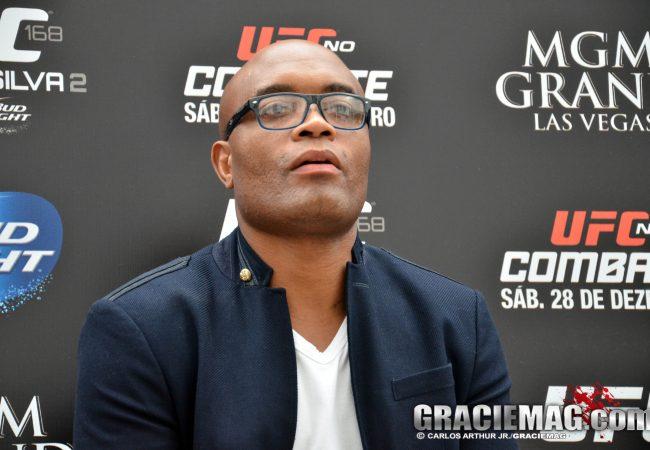 """Anderson Silva revela: """"UFC Rio foi cancelado por conta da crise econômica"""""""
