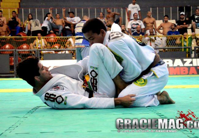 Brasileiro de Equipes: veja uma das finais da faixa-marrom/preta no peso leve