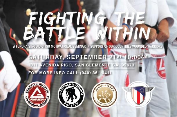 GB San Clemente to host seminar for how Jiu-Jitsu helps combat veterans' PTSD