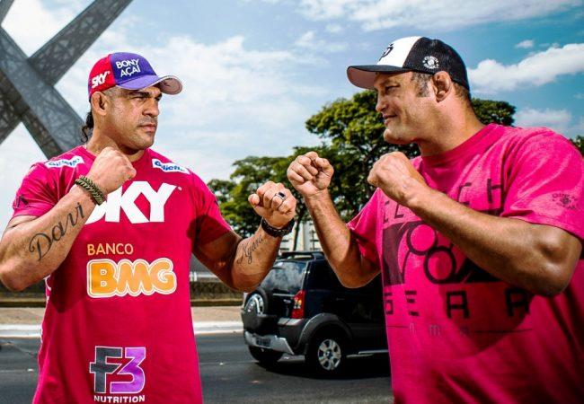 Vídeo: a primeira encarada entre Belfort e Dan Henderson para o UFC em Goiânia