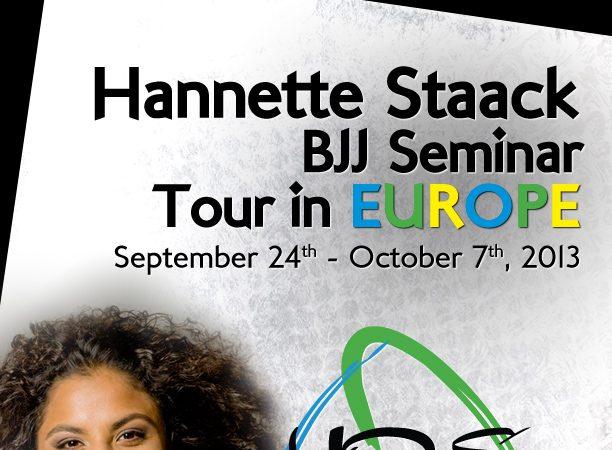 Hannette Staack kicks off European seminar tour