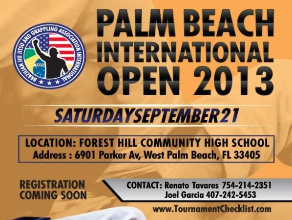 Palm Beach, Florida here's a tournament opportunity on September 21!