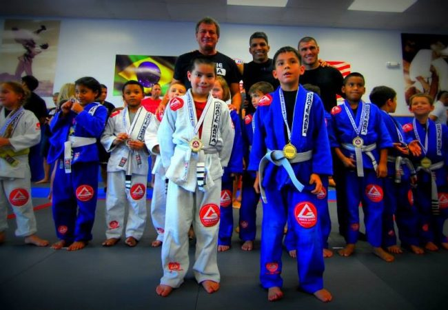 Gracie Barras in Houston host internal kids tournament with 115 competitors
