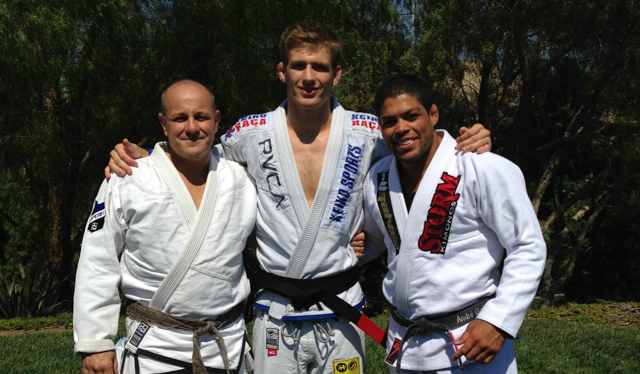 Keenan Cornelius promoted to black belt