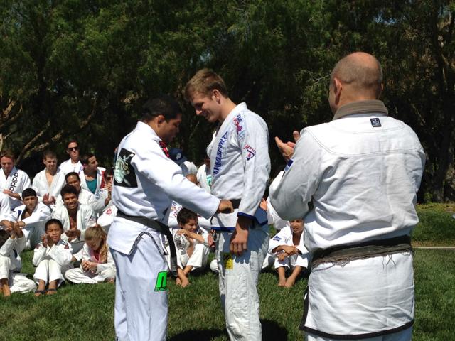 ANDRE Galvão, Keenan, graduation, tom callos, black belt