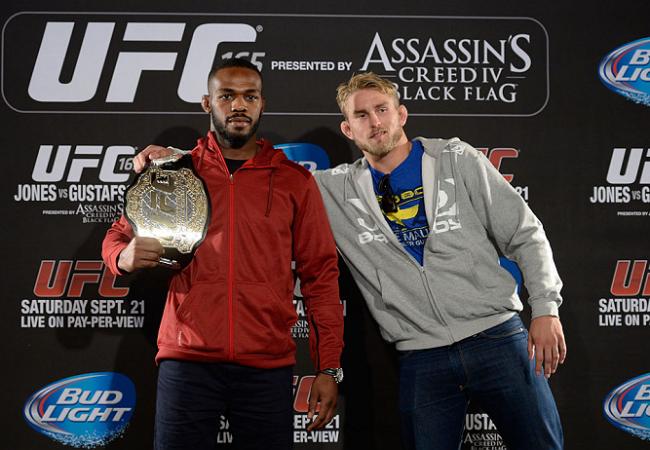 Vídeo: aqueça com Jones, Gustafsson, Barão e Wineland no countdown do UFC 165
