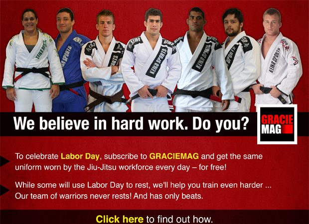 Hurry up! Last day of the 'Labor Day' Offer: Free Keiko Gi