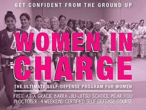 Women in Charge: Gracie Barra presents self-defense program for ladies