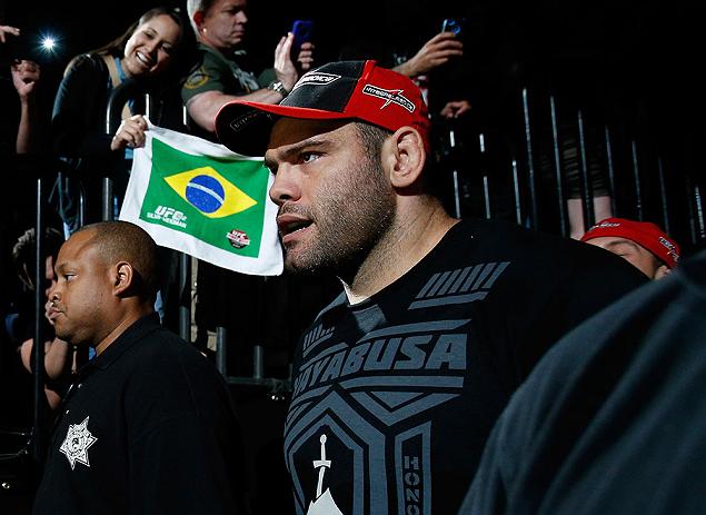 Napão atua no UFC mirando o top 10 da categoria. Foto: Divulgação/UFC